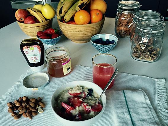 Vanesa Lorenzo |Blog |Alimentación |Desayuno de invierno