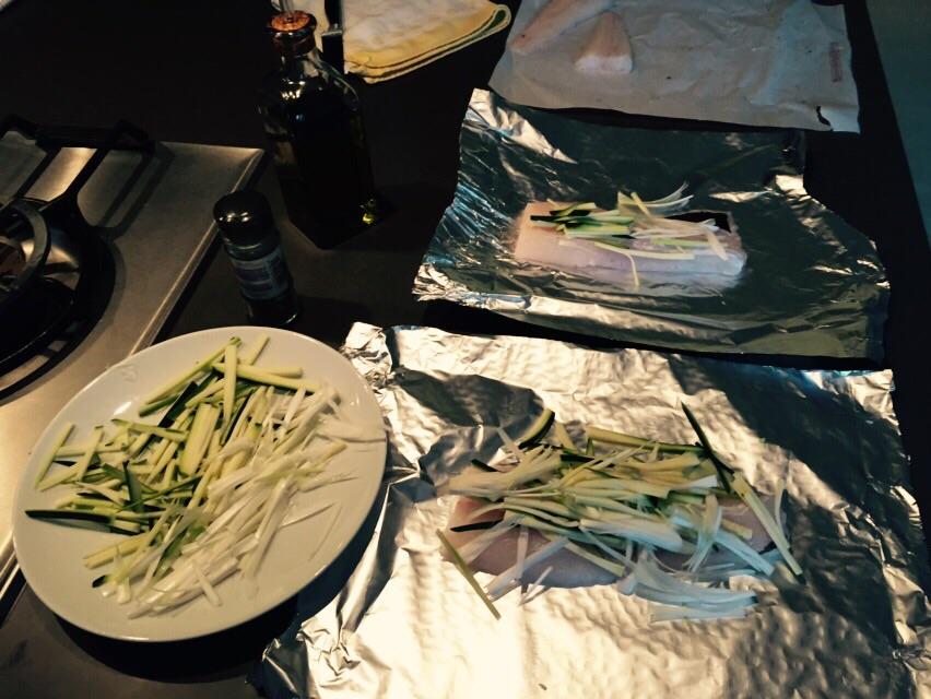 Vanesa Lorenzo blog | Cena en casa: pescado al papillote