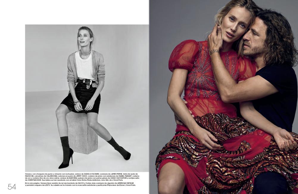 Vanesa Lorenzo y Carles Puyol   Blog   Fashion&Arts