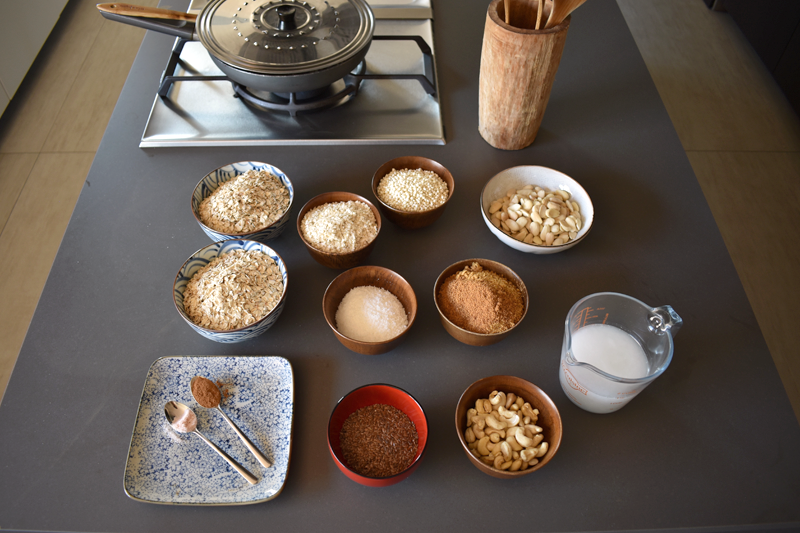Vanesa Lorenzo |Mi receta casera de granola