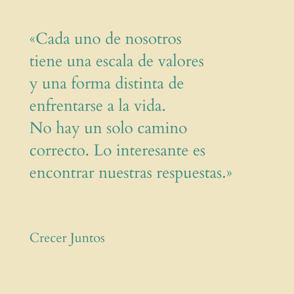 Crecer Juntos quote vanesa lorenzo